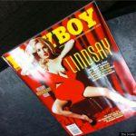 Lindsay Lohan coperta Playboy