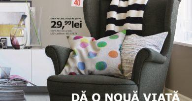 A fost lansat catalogul IKEA 2013