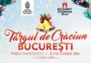 PROGRAM Târgul de Crăciun București 1-30 decembrie 2016