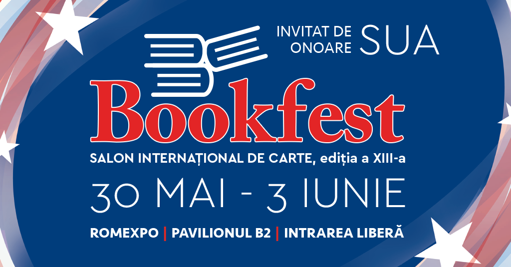 Incepe cel mai mare Bookfest 30 mai – 3 iunie